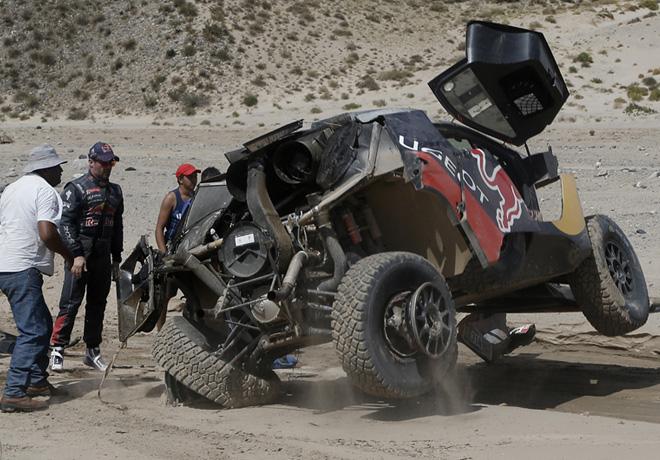 Dakar 2016 - Etapa 8 - Sebastien Loeb - Peugeot 2008 DKR16 2