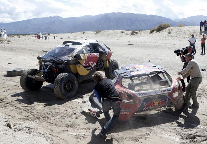 Dakar 2016 - Etapa 8 - Sebastien Loeb - Peugeot 2008 DKR16 3