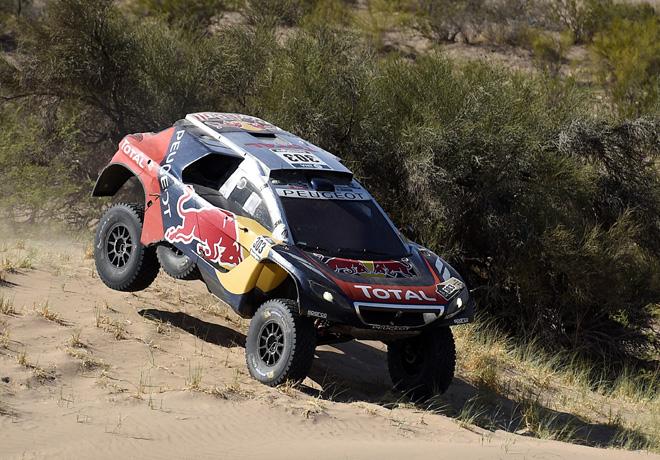 Dakar 2016 - Etapa 9 - Carlos Sainz - Peugeot 2008 DKR16