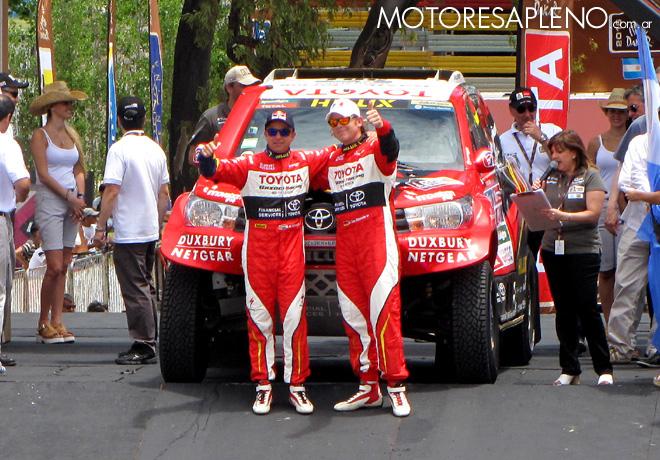 Dakar 2016 - Giniel de Villiers - Toyota Hilux