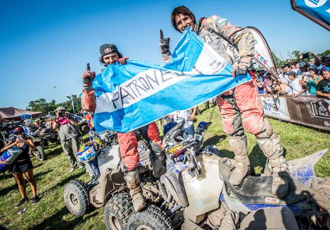 Dakar 2016 - Marcos y Alejandro Patronelli - Yamaha