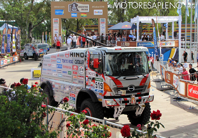 Dakar 2016 - Teruhito Sugawara - Hino