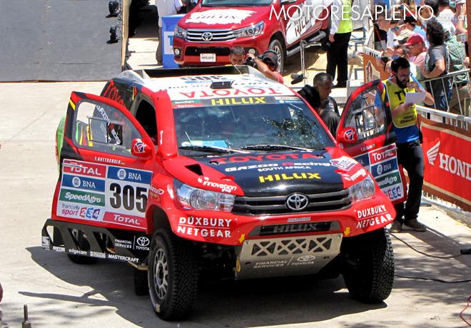 Dakar 2016 - Yazeed Al Rajhi - Toyota Hilux