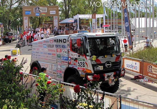 Dakar 2016 - Yoshimasa Sugawara - Hino