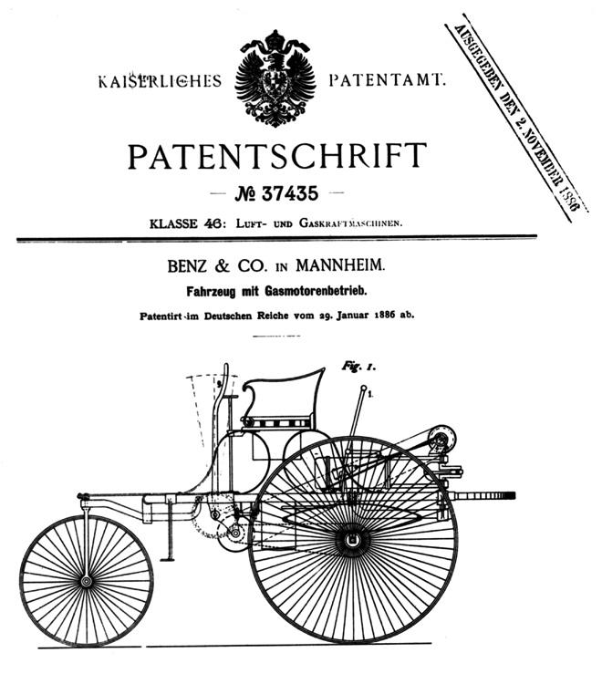 El automovil -creacion de Carl Benz- cumple hoy 130 anos 3