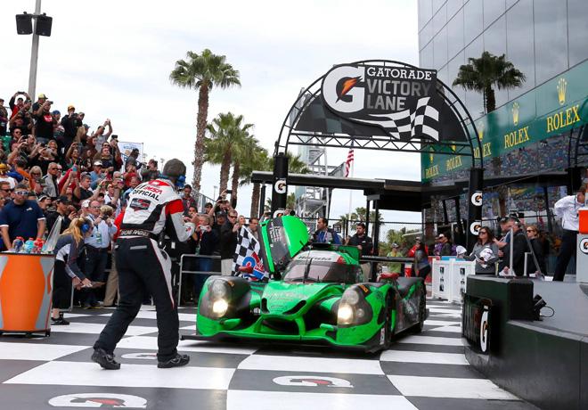 IMSA - 24hs de Daytona - Pipo Derani - Scott Sharp - Johannes van Overbeek - Ed Brown - Ligier-Honda