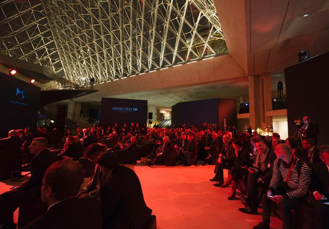 La piramide del Museo del Louvre fue testigo de la presentacion del Nuevo DS3 3