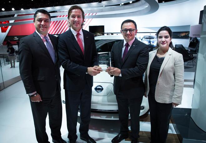 Nissan LEAF elegido Auto Electrico del Ano 2016 por FIPA