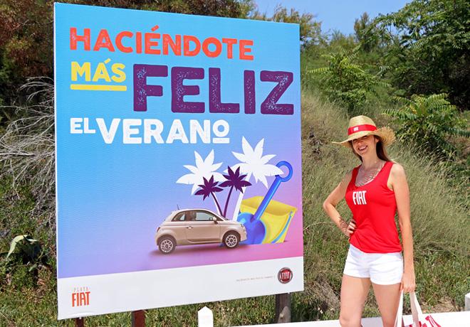 Playa Fiat - Haciendote mas feliz el verano 1