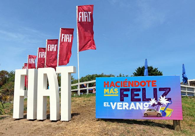 Playa Fiat - Haciendote mas feliz el verano 2
