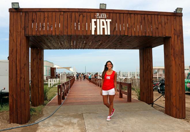 Playa Fiat - Haciendote mas feliz el verano 5