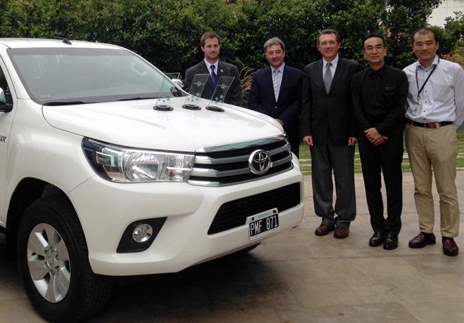 Toyota Argentina recibio los premios de Latin NCAP