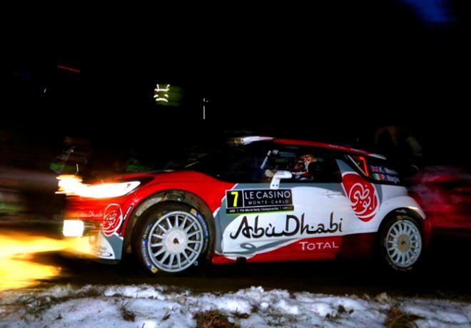 WRC - Monaco 2016 - Dia 1 - Kris Meeke - Citroen DS3