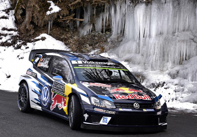 WRC - Monaco 2016 - Dia 2 - Sebastien Ogier - VW Polo R