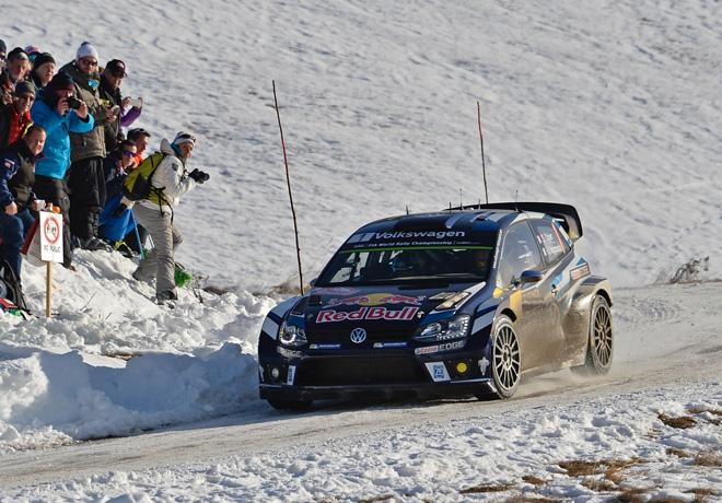 WRC - Monaco 2016 - Dia 3 - Sebastien Ogier - VW Polo R