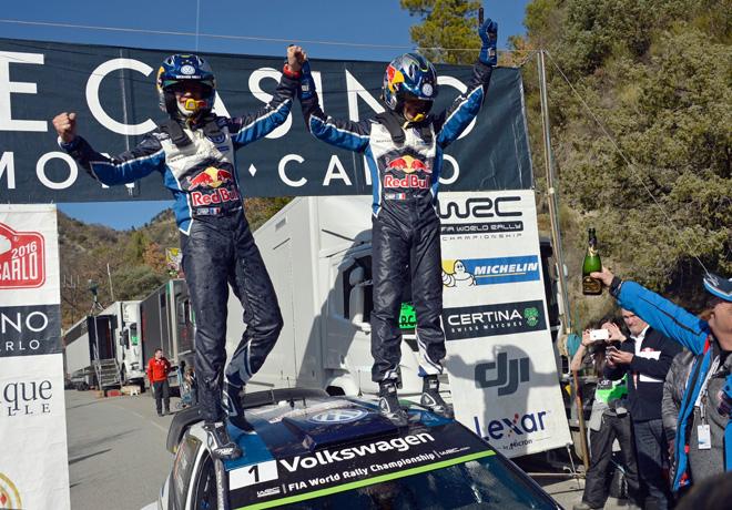 WRC - Monaco 2016 - Final - Sebastien Ogier - VW Polo R