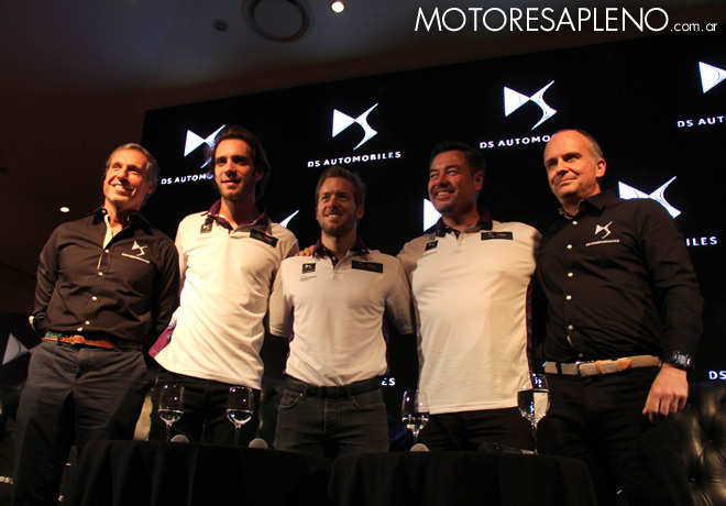 Conferencia de prensa DS Virgin Racing de Formula E
