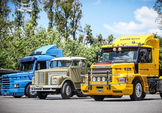 Finalistas mejor Scania de Argentina