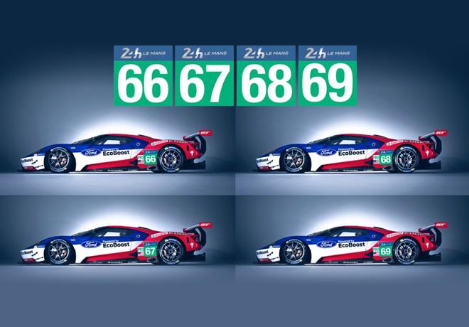 Ford participara en Le Mans 2016 con sus cuatro Ford GT 1