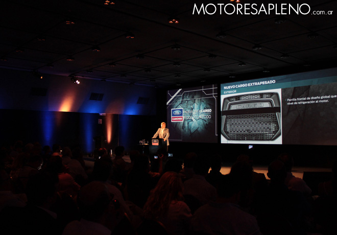 Ford presento la Nueva Linea Cargo Euro V 01