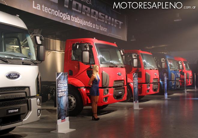 Ford presento la Nueva Linea Cargo Euro V 03