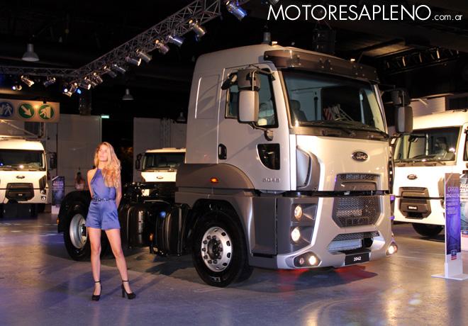 Ford presento la Nueva Linea Cargo Euro V 06