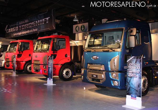 Ford presento la Nueva Linea Cargo Euro V 09