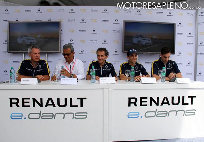 Formula E - Conferencia de prensa de eDams Renault 1