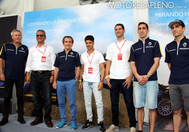 Formula E - Conferencia de prensa de eDams Renault 2