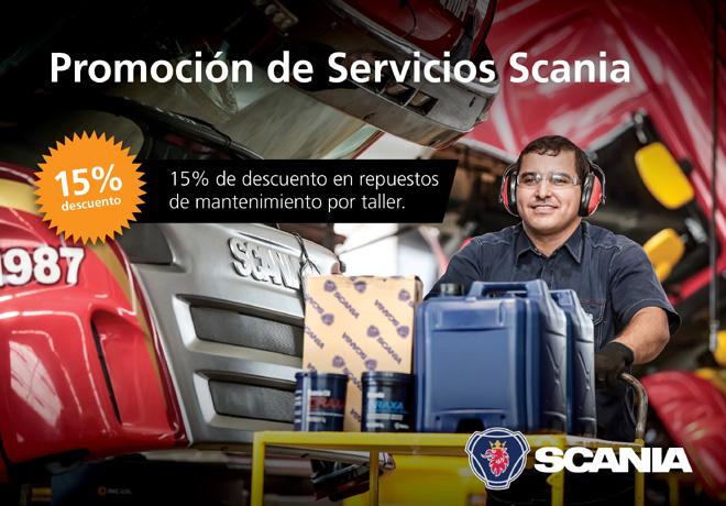 Nueva promocion de servicios de Scania Argentina