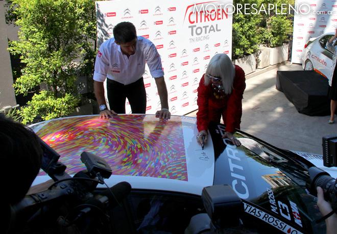 Presentacion Citroen Total TN Racing 4