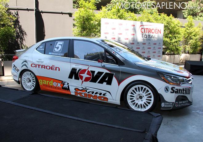 Presentacion Citroen Total TN Racing 6