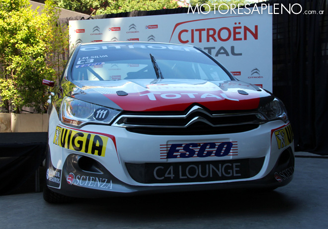 Presentacion Citroen Total TN Racing 7