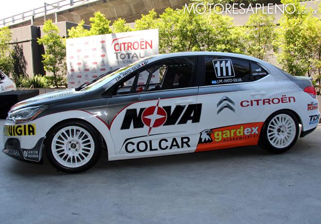 Presentacion Citroen Total TN Racing 8