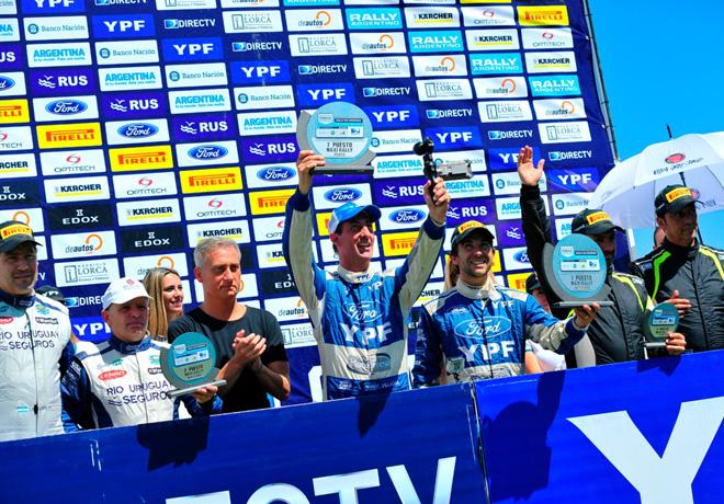 Rally Argentino - Cordoba 2015 - Final - El Podio
