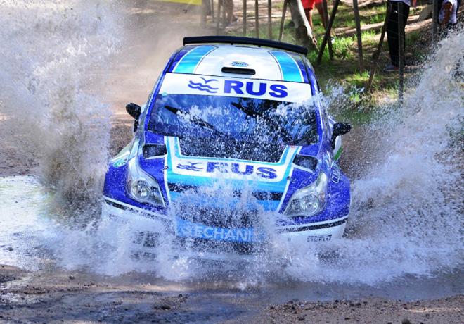 Rally Argentino - Cordoba 2016 - Etapa 1 - Marcos Ligato - Chevrolet Agile MR