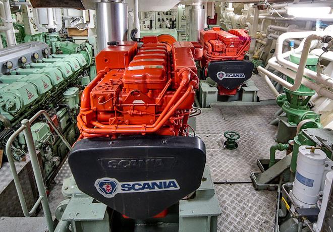 Scania - Motores Marinos 2