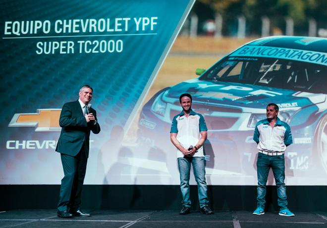 Se presento el Equipo Chevrolet YPF de Super TC2000 1