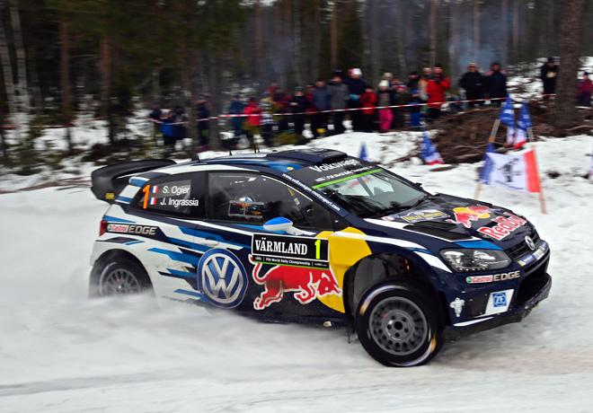 WRC - Suecia 2016 - Dia 1 - Sebastien Ogier - VW Polo R