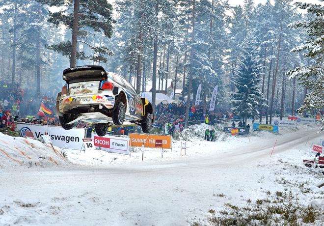 WRC - Suecia 2016 - Dia 2 - Sebastien Ogier - VW Polo R