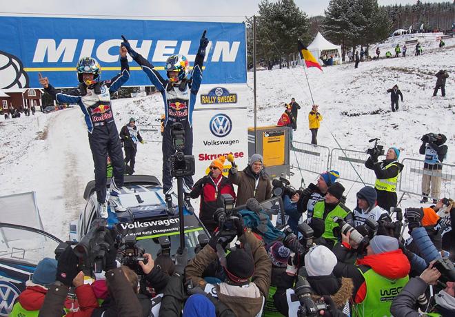 WRC - Suecia 2016 - Final - Sebastien Ogier - VW Polo R