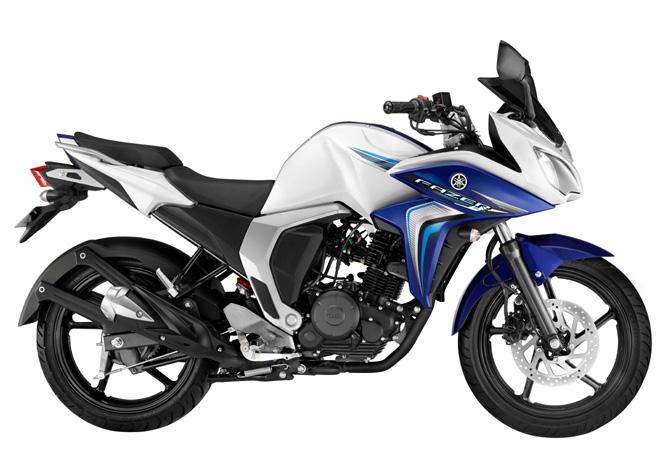 Yamaha Fazer White Cloud