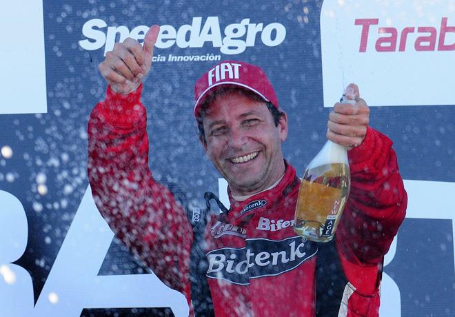 Abarth Punto Competizione - Trelew 2016 - Carrera 1 - Daniel Belli en el Podio
