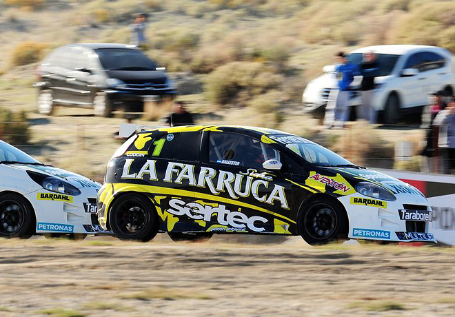 Abarth Punto Competizione - Trelew 2016 - Carrera 2 - Hugo Ballester