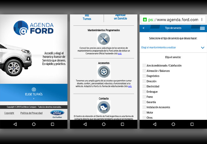 Agenda Ford