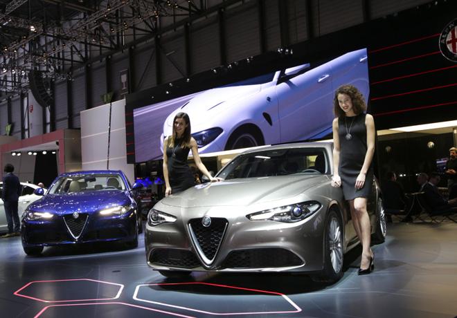 Alfa Romeo Giulia en el Salon de Ginebra 2016 1