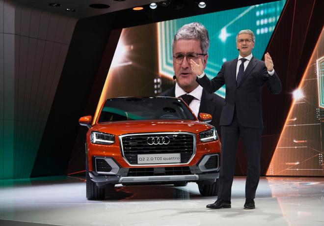 Audi presento en el Salon de Ginebra el Audi Q2 1