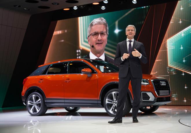 Audi presento en el Salon de Ginebra el Audi Q2 2