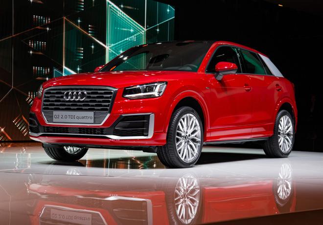 Audi presento en el Salon de Ginebra el Audi Q2 3