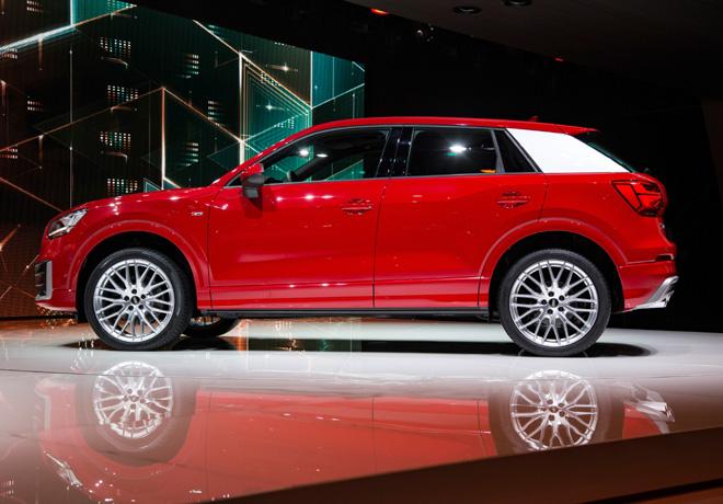 Audi presento en el Salon de Ginebra el Audi Q2 4